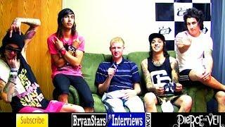 Pierce The Veil Interview Vic Fuentes UNCUT Warped Tour 2010