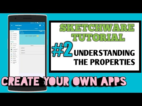Sketchware Tutorial #2 :: Understanding Properties :: Margin,Padding,Size,moving,