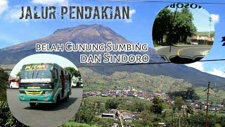 Sikecil cabe rawit.. Naik Bus Menyusuri Gunung Sumbing+Sindoro ( Magelang-Wonosobo)