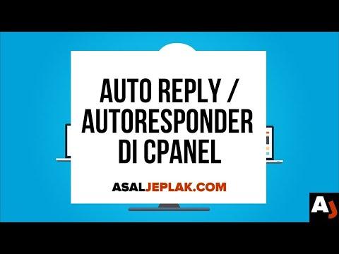 Cara Membuat Email Auto Reply di cPanel