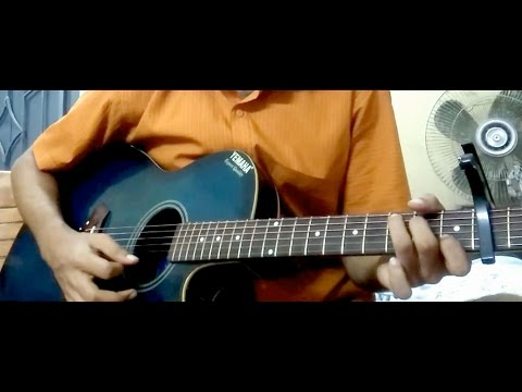 Thik Emon EbhabeSIMPLE GUITAR CHORDS FOR BEGINNERS| Gangster |Arijit Singh ২০১৬