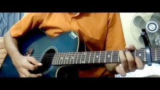 Thik Emon Ebhabe  SIMPLE GUITAR CHORDS FOR BEGINNERS  | Gangster |  Arijit Singh ২০১৬