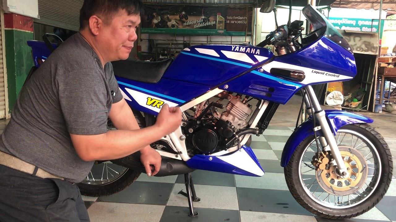 Download YAMAHA VR150สีน้ำเงินปี89 จากซากรถสู่ราชสีห์ คุณโรบิ้น Fcจ นครพนม