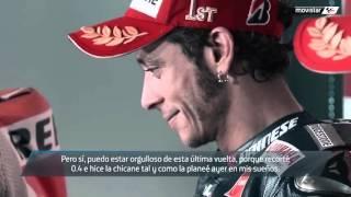 motogp cheste 2015   pique previo entre rossi 46 y mrquez 93