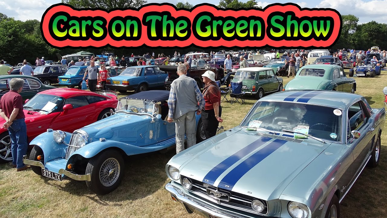 Watford Classic Cars on the Croxley Green Show Hertfordshire England ...