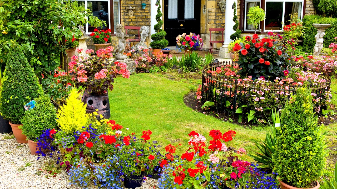 Beautiful Garden Pictures Houses: The Most Beautiful Gardens Of The World