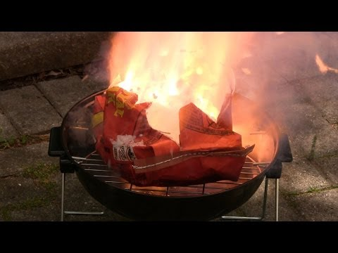 How a Chemist Lights a Barbecue