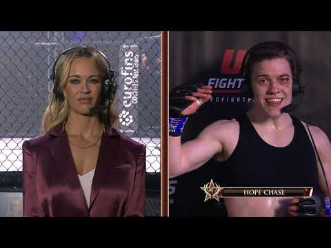Invicta FC 43: Hope Chase Post-Fight Interview