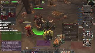 World of Warcraft Classic Tauren Warrior Skeram Ex HWL / Gladiator New Character LIVE VOD