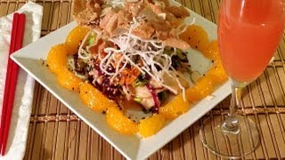How To Make Chinese Chicken Salad-asian Food Recipes