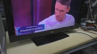 Lg 32lk430 Ha orqa hech tasvir, faqat oddiy nosozligi TV T-CON