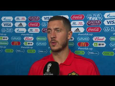 Eden HAZARD (Belgium) - Post Match Interview - MATCH 13