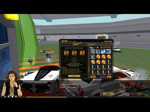 Hyper Acceleration Dockings from Level 85 Parts: Highlights - E61 [Drift City][Skid Rush][스키드러쉬]