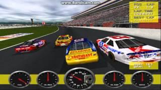 NASCAR Revolution PC Race #25 Gameplay (Mike Skinner) (Atlanta) (9 Laps)