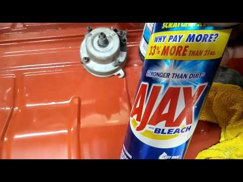 Restoring old paint or removing overspray