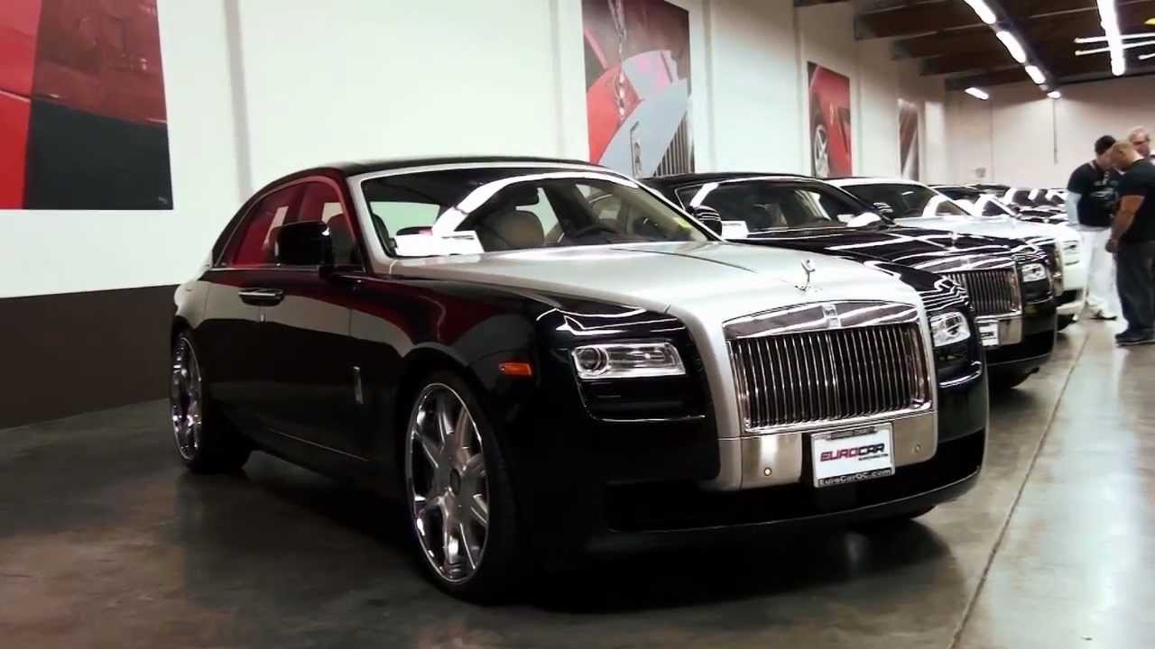 2011 Rolls-Royce Ghost At EuroCar In Orange County, 2012
