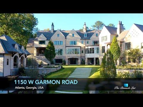 North Buckhead Ultra Luxury Estate   1150 W Garmon, Atlanta, GA, USA 🇺🇸   Luxury Real Estate
