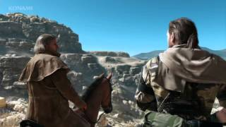 Metal Gear Solid V The Phantom Pain Advanced E3 Trailer