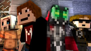 """Minecraft Crafting Dead - """"Gas Station Run"""" #5 (The Walking Dead Roleplay S4)"""