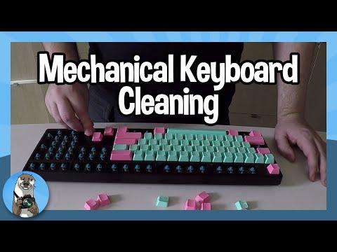 [Keyboards] Mechanical Keyboard Cleaning
