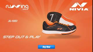 5 Sec Video promoting Nivia Sports Running Shoes