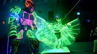 Leaan's Bat Mitzvah (LED Robot & Entertainment in Hollywood Florida)
