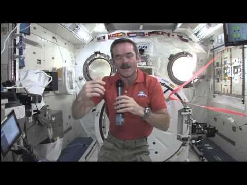 Chris Hadfield Speaks with William Shatner live from space -- Event Video