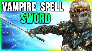 Skyrim Best Weapon Location - For VAMPIRE Build (Harkon's Sword)