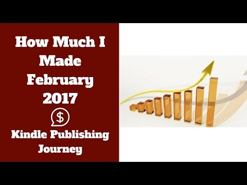 Kindle Publishing Journey Ep. 12 - February Income Report and New Course Update