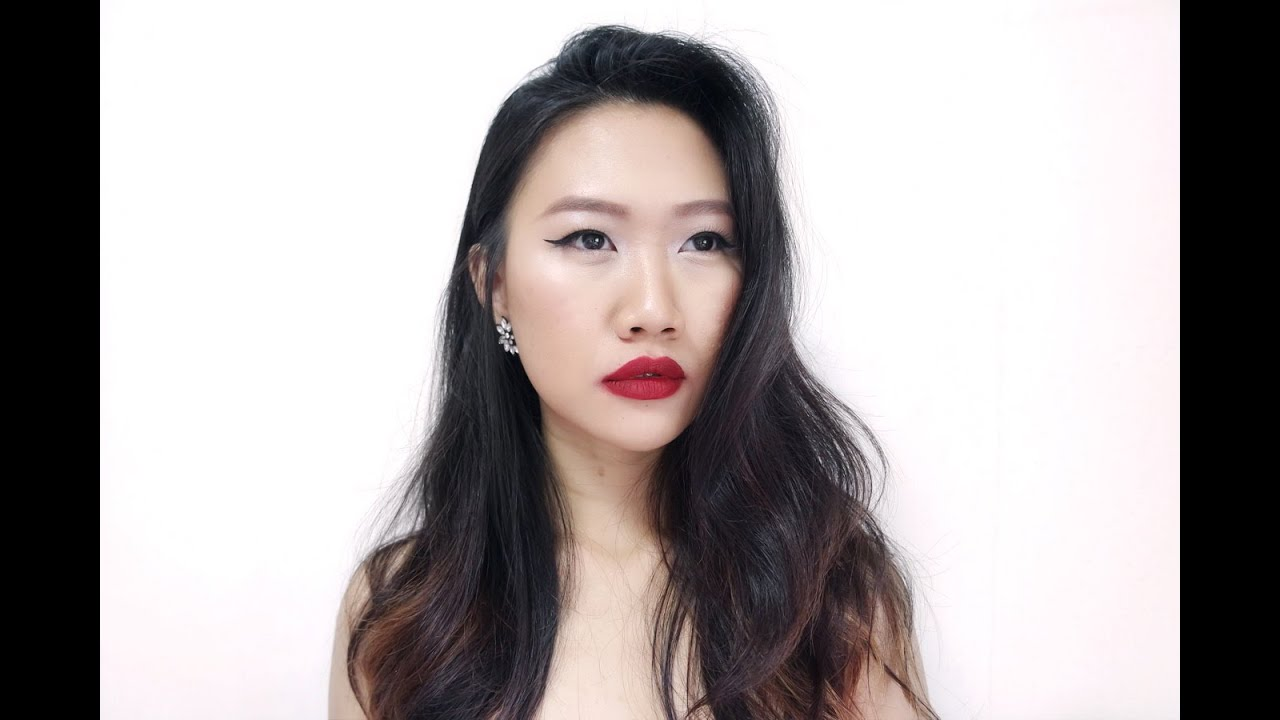 a131252c6ea Red Lips For Asian Skintone You Makeup Tutorial With