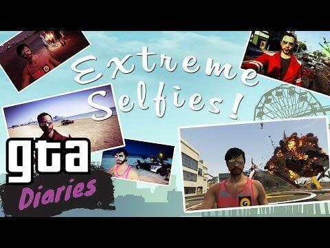 EXTREME SELFIES in GTA V - GTA Diaries