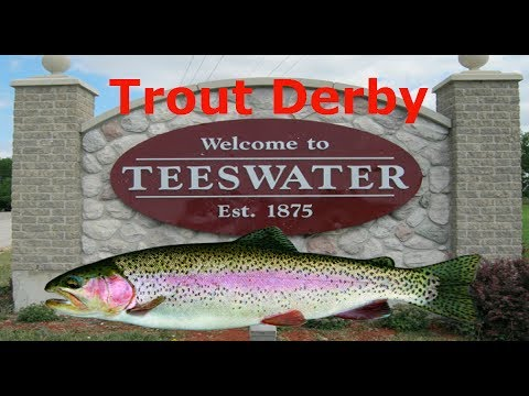 Teeswater Trout Derby! (2nd again)