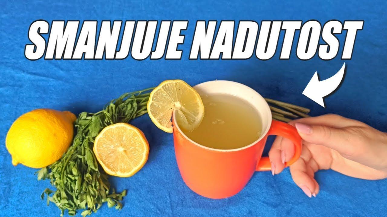 Najjači čaj za izbacivanje vode iz organizma (RECEPT)