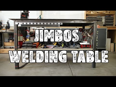 Custom Welding Table Review Jimbos Garage Youtube