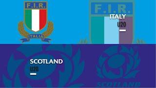 World Rugby U20 Championship 2019 - Scotland U20 v Italy U20
