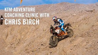 KTM Adventure Coaching Clinic With Chris Birch