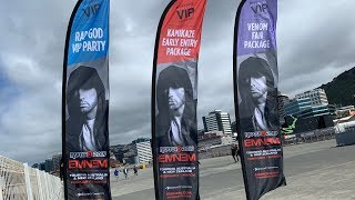 Rapture 2019 Diaries: Wellington, Westpac Stadium