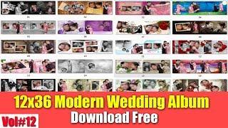 12x36 Wedding Album PSD Templates For Photoshop Download Free Vol#12 [desimesikho] 2019