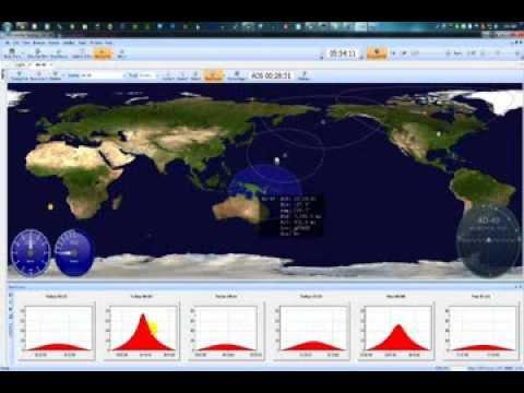 Ham Radio Deluxe - Satellite Tracking
