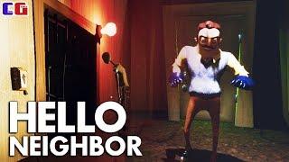 ЧТО ТАМ в ПОДВАЛЕ СОСЕДА? Секреты ПРИВЕТ СОСЕД в Мультяшной хоррор игре Hello Neighbor от CoolGAMES