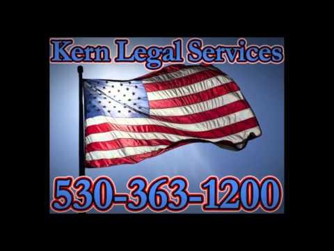 Kern Legal Services 530-363-1200 Process Server - Paradise CA