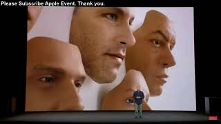 Apple Event Keynote 2017  iPhoneX Face ID and Animoji