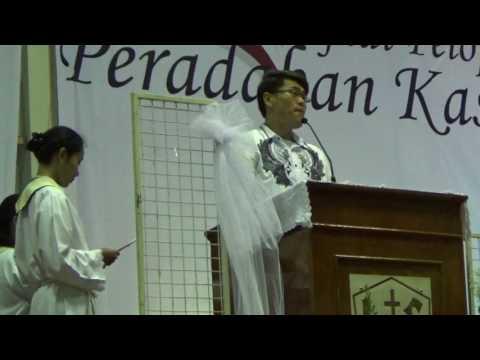 Mazmur Tanggapan KAMIS PUTIH 13 April 2017 Kapel SMA Kolese Loyola - dr.Edward Tirtananda