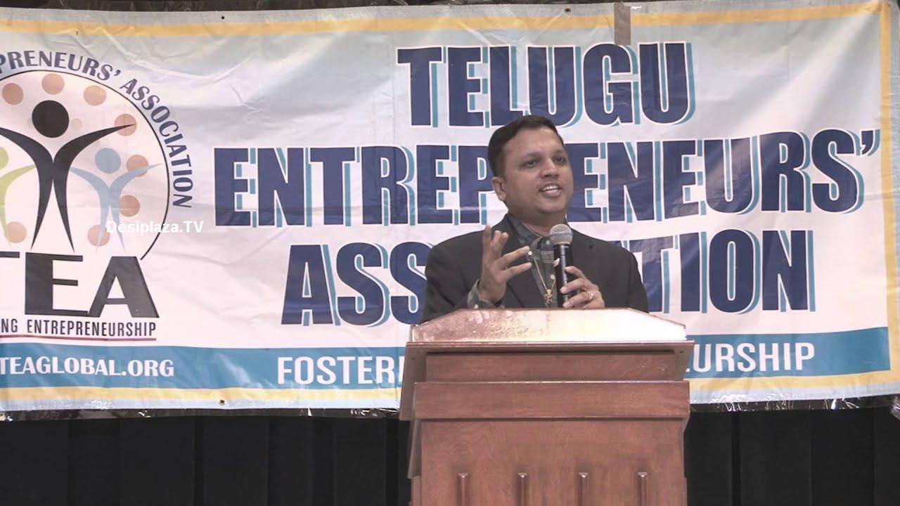 Mr Sanjay Singhania, CEO of Tanmai Jewellers, speaking at TEA Women Entrepreneurs Seminar