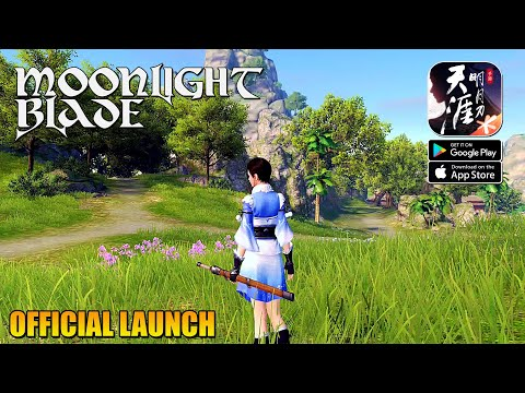 Moonlight Blade (Tencent)  MMORPG Official Launch Gameplay (Android/IOS)