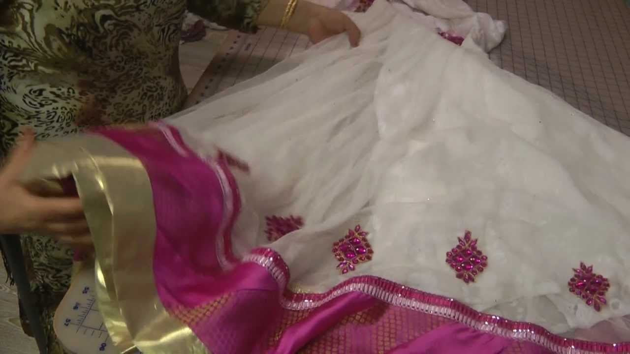Annarkhallis Panel Dresses And Larchas YouTube - How to make designer dress at home