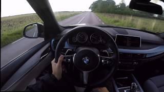 2016 BMW X5 F15 xDrive 30d POV/test drive acceleration