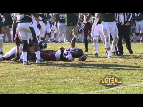 jerry-kill-reviews-michigan-state-game-(gopher-football-with-jerry-kill-tv-show)