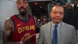 JR Smith and Coach Lue Trying to Recruit Lebron James back to Cleveland!