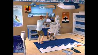 The Sims 2 Teen Style Stuff PC 2006 Gameplay